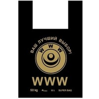 "Пакет типа ""майка"" 43+20 х 69 (40) Артпласт (WWW) 50 шт/упак МАЙ02767. Интернет-магазин Vseinet.ru Пенза"