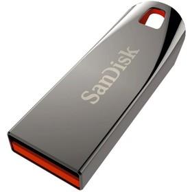 Флешка SanDisk CZ71 Cruzer Force 32Гб,  USB 2.0, серебристая с красным (SDCZ71-032G-B35)