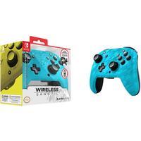 Фото Беспроводной контроллер NINTENDO Faceoff, для Nintendo Switch, синий камуфляж [nt067496]. Интернет-магазин Vseinet.ru Пенза