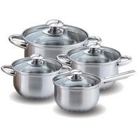 Набор посуды KELLI KL-4202 / 8 предметов / нержавеющая сталь. Интернет-магазин Vseinet.ru Пенза