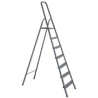603007 Стремянка алюминиевая KROFT 7 ступеней.. Интернет-магазин Vseinet.ru Пенза
