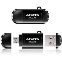 Флешка ADATA DashDrive Durable UD320 32Гб, USB 2.0 + microUSB, черная (AUD320-32G-RBK). Интернет-магазин Vseinet.ru Пенза