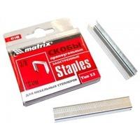 Скобы, 8 мм для мебельного степлера,заостренные, тип 53, 1000шт. MATRIX 41138. Интернет-магазин Vseinet.ru Пенза