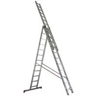 604312 Лестница трехсекционная Новая высота 3 х 12. Интернет-магазин Vseinet.ru Пенза