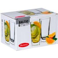 Набор стаканов PASABAHCE BALTIC 41300B / 6 предметов / 290 мл / для коктейля. Интернет-магазин Vseinet.ru Пенза