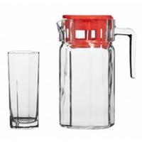 Набор питьевой PASABAHCE KOSEM 97415B / 7 предметов. Интернет-магазин Vseinet.ru Пенза
