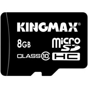 Карта памяти KINGMAX - micro SDHC 8Гб, Class 10