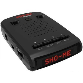 Радар-детектор SHO-ME G-900 STR Red, дисплей красный