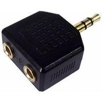 Переходник PERFEO A7008 JACK 3.5 мм вилка - 2XJACK 3.5 мм розетка стерео-аудио. Интернет-магазин Vseinet.ru Пенза