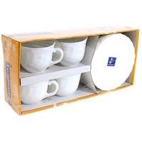 Набор чайный LUMINARC ТРИАНОН 67530 / 8 предметов / 280 мл. Интернет-магазин Vseinet.ru Пенза