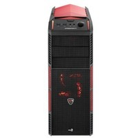 Корпус Aerocool Xpredator X1 Devil Red Edition черный w/o PSU ATX SECC 2*120mm fan 2*USB3.0 audio HD screwless bott PSU red led fans. Интернет-магазин Vseinet.ru Пенза