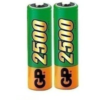 Аккумулятор GP 250AAHC-CR2 2500mAh AA 2шт. Интернет-магазин Vseinet.ru Пенза