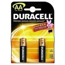 Батарея Duracell LR6-2BL-2 Basic AA 2шт