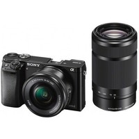 Фотоаппарат Sony Alpha A6000Y, 24.7 Mpx/4x, Black, Kit 16-50mm + 55-210mm. Интернет-магазин Vseinet.ru Пенза