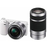 Фотоаппарат Sony Alpha A6000Y, 24.7 Mpx/4x, silver, Kit 16-50mm + 55-210mm. Интернет-магазин Vseinet.ru Пенза