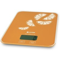 Весы кухонные Vitek VT-2416 OG, оранжевые. Интернет-магазин Vseinet.ru Пенза