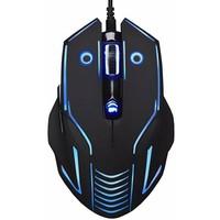 Мышь Oklick 735G проводная, USB, черная с синим. Интернет-магазин Vseinet.ru Пенза