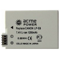 Аккумулятор ACME POWER AP-LP-E8 для CANON (7.4V, 1120 mAh, Li-Ion). Интернет-магазин Vseinet.ru Пенза