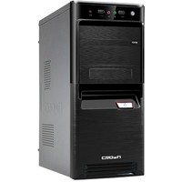 Корпус Crown CMC-SM164 black/silver ATX (CM-PS500W smart). Интернет-магазин Vseinet.ru Пенза