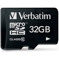 Карта памяти Verbatim SecureDigital, 32Gb, class 10. Интернет-магазин Vseinet.ru Пенза
