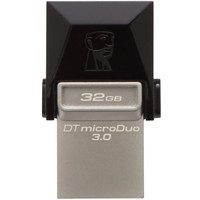 Флешка Kingston DataTraveler DTDUO3 32Гб, USB 3.0, черная (DTDUO3/32GB). Интернет-магазин Vseinet.ru Пенза