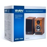 Активная акустика Sven SPS-702 / 2.0 / 40 - 22000 Гц / чёрный. Интернет-магазин Vseinet.ru Пенза