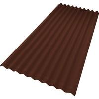 """Лист Ондулина """"Smart"""" коричневый (1950*950*3мм) 6.3кг. Интернет-магазин Vseinet.ru Пенза"""