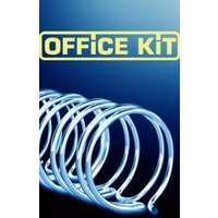 Пружины для переплета металлические Office Kit 14.3мм (на 100-120 листов) черный (100шт) (OKPM916B) (9/16). Интернет-магазин Vseinet.ru Пенза