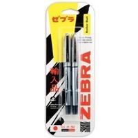 Ручка-роллер Zebra ZEB-ROLLER BE-& DX5 0,5мм игловидный пиш. наконечник черный/черный блистер (2шт). Интернет-магазин Vseinet.ru Пенза