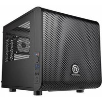 Корпус Thermaltake CA-1B8-00S Core V1 черный w/o PSU MiniITX SECC 1*2000mm 2*80mm fan 2*USB3.0 audio HD bott PSU. Интернет-магазин Vseinet.ru Пенза