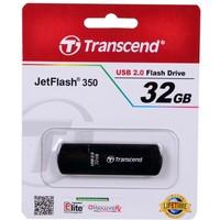 Флешка Transcend JetFlash 350 32Гб,  USB 2.0, черная (TS32GJF350). Интернет-магазин Vseinet.ru Пенза