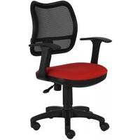 Кресло БЮРОКРАТ Ch-797AXSN, на колесиках, ткань, черно-красный [ch-797axsn/26-22]. Интернет-магазин Vseinet.ru Пенза