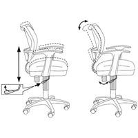 Кресло БЮРОКРАТ Ch-797AXSN, на колесиках, ткань, черно-синий [ch-797axsn/26-21]. Интернет-магазин Vseinet.ru Пенза