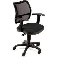 Кресло БЮРОКРАТ Ch-797AXSN, на колесиках, ткань, черный [ch-797axsn/26-28]. Интернет-магазин Vseinet.ru Пенза