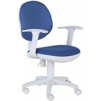 Кресло БЮРОКРАТ CH-W356AXSN/15-10, на колесиках, ткань, темно-синий. Интернет-магазин Vseinet.ru Пенза