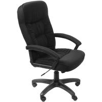 Кресло руководителя БЮРОКРАТ T-9908AXSN-AB, на колесиках, кожа/кожзам, черный. Интернет-магазин Vseinet.ru Пенза