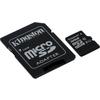 Карта памяти Kingston micro SDHC 32Гб, Class 10 UHS-I, адаптер SD(SDC10G2/32GB). Интернет-магазин Vseinet.ru Пенза