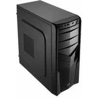 Корпус Aerocool V2X BLACK черный w/o PSU mATX SECC 1*92mm fan 2*USB2.0 USB3.0 audio HD bott PSU. Интернет-магазин Vseinet.ru Пенза