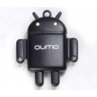 USB накопитель QUMO Micro SecureDigital Card SDHC, 16Gb, USB картридер FUNDROID, class 10, чёрный. Интернет-магазин Vseinet.ru Пенза