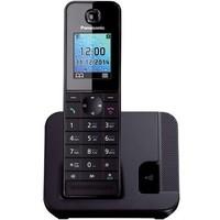 Беспроводной телефон PANASONIC KX-TGH210RUB, черный. Интернет-магазин Vseinet.ru Пенза