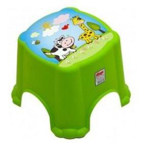 Табурет детский DUNYA Plastic 06105. Цвет: салатовый
