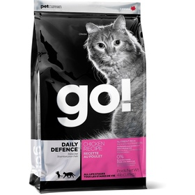GO! NATURAL Holistic Для Котят и Кошек с Цельной Курицей, фруктами и овощами (Refresh + Renew Chicken Cat Recipe 32/20), 7,26 кг