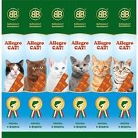 B&B Allegro Колбаски для кошек с лососем и форелью, 6шт (36451), 30 г. Интернет-магазин Vseinet.ru Пенза