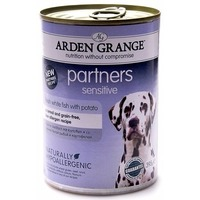 Arden Grange Консервы для собак с белой рыбой и картофелем (Sensitive, Fish & Potato) AG825016, 395 г. Интернет-магазин Vseinet.ru Пенза