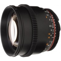 Объектив Samyang 85mm T1.5 AS IF UMC VDSLR Canon EF. Интернет-магазин Vseinet.ru Пенза