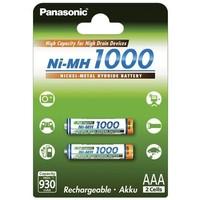 Аккумулятор AAA Panasonic 2BPBK-4HGAE/2BE, Ni-MH, 1000 mAh, 1.2 V (в упаковке 2 шт., цена за 1 шт.). Интернет-магазин Vseinet.ru Пенза