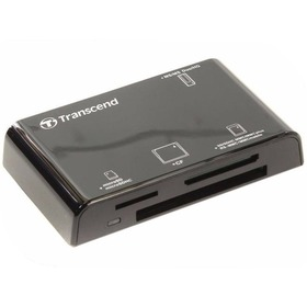 Внешний картридер Transcend Compact Card Reader P8 TS-RDP8K Black