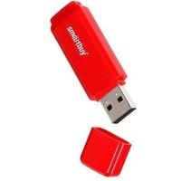 Флешка SmartBuy Dock  SB32GBDK-R 32Гб,  USB 2.0, красная (SB32GBDK-R). Интернет-магазин Vseinet.ru Пенза