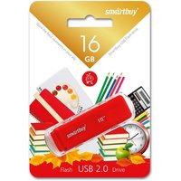 Флешка SmartBuy Dock  SB16GBDK-R 16Гб,  USB 2.0, красный (SB16GBDK-R). Интернет-магазин Vseinet.ru Пенза