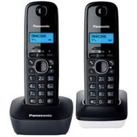 Беспроводной телефон PANASONIC KX-TG1612RU1, темно-серый и белый. Интернет-магазин Vseinet.ru Пенза